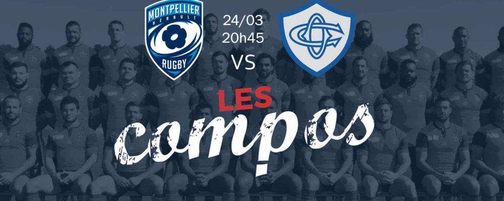 montpellier v castres compositions équipes rugby france top 14 xv de départ 15