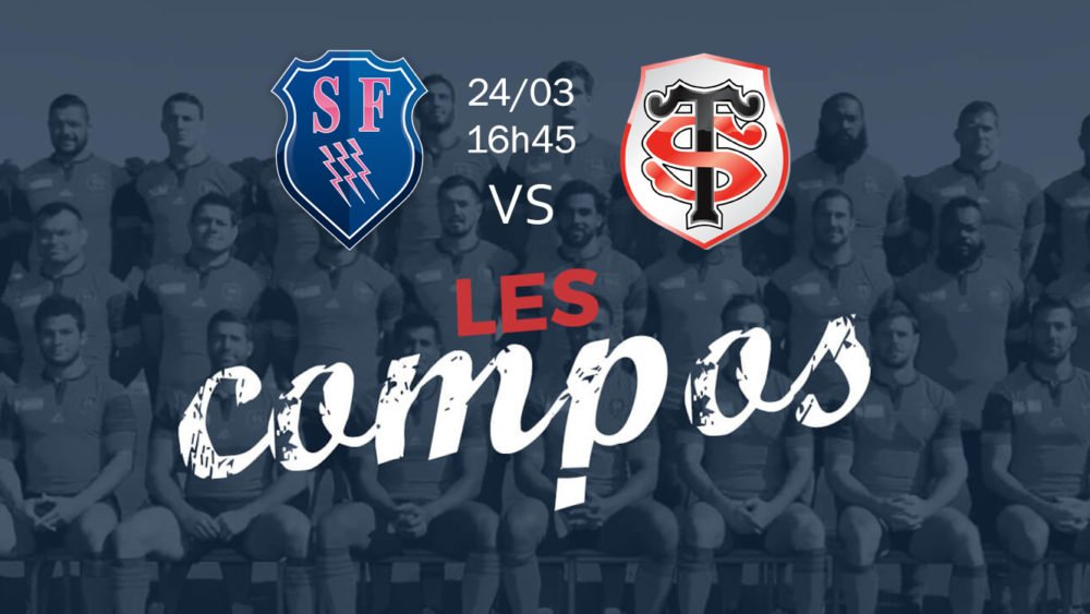 paris v toulouse compositions équipes rugby france top 14 xv de départ 15