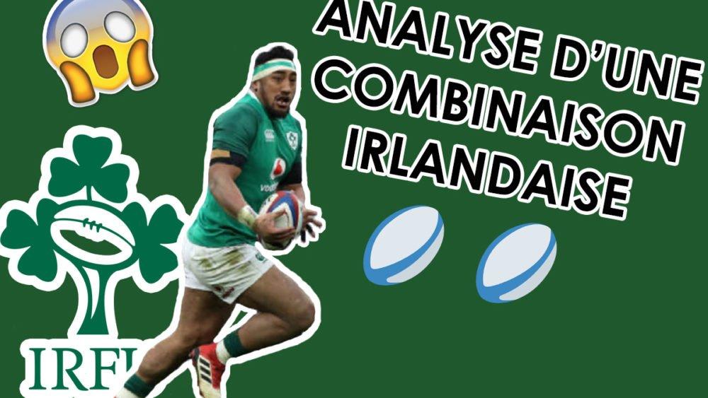 rugby analayse magnifique combinaison de l'irlande international xv de départ 15 tournoi 6 nations angleterre