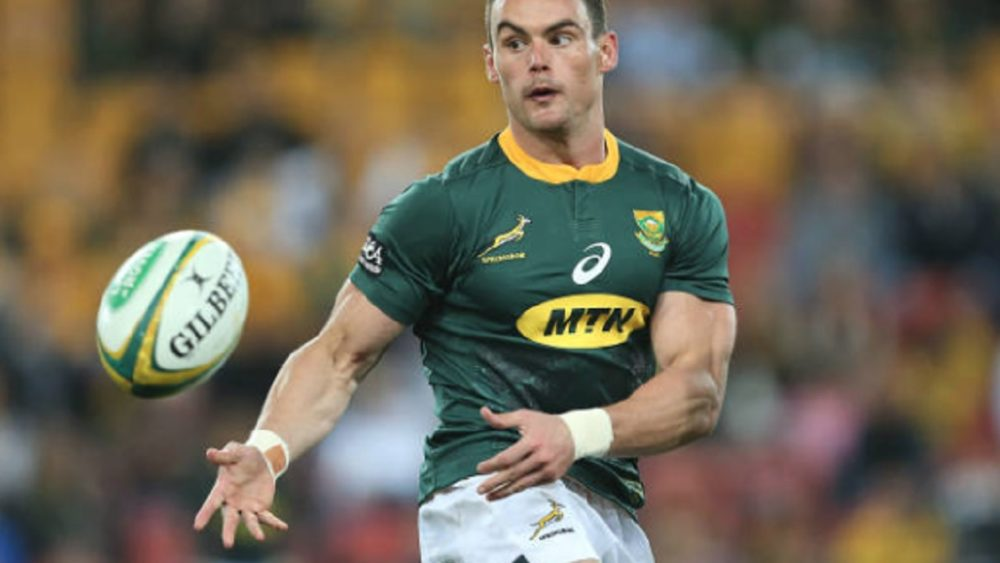 4 nations kriel replacé à l'aile rugby international xv de départ 15