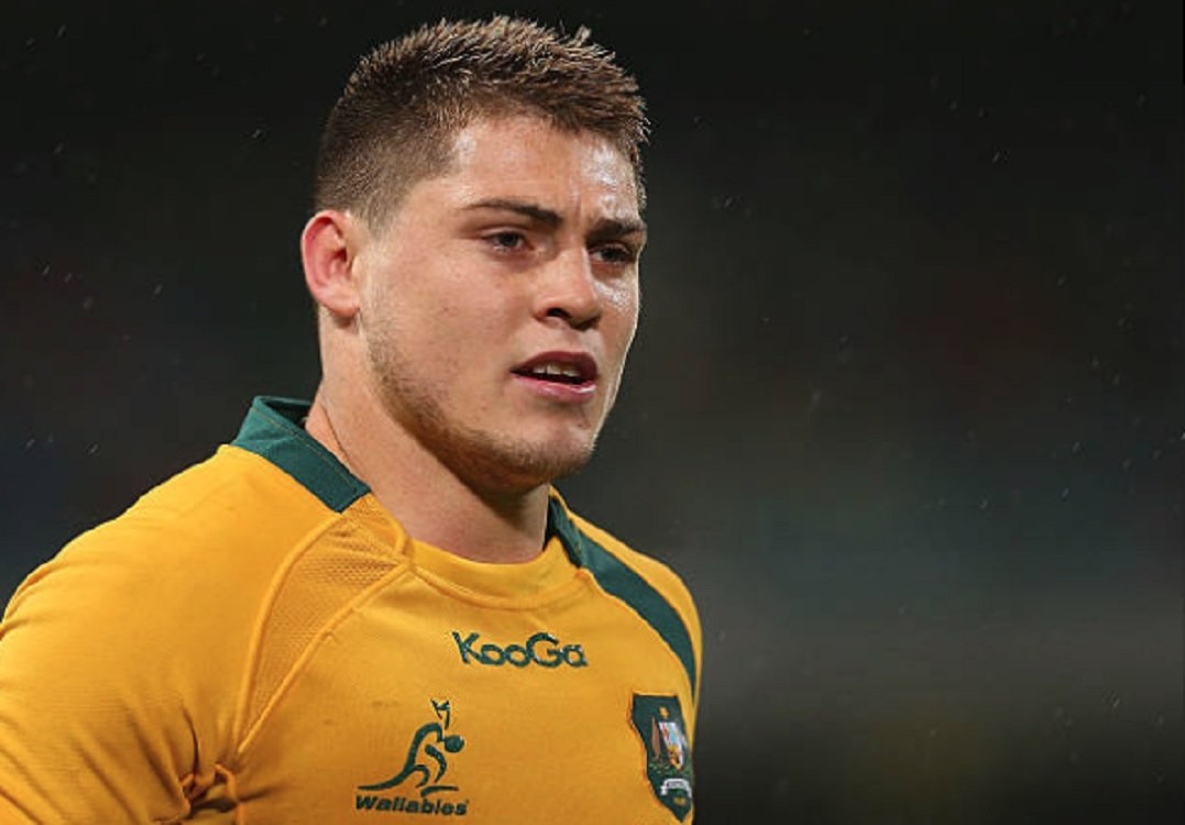 australie james o'connor je suis maintenant prêt rugby international xv de départ 15