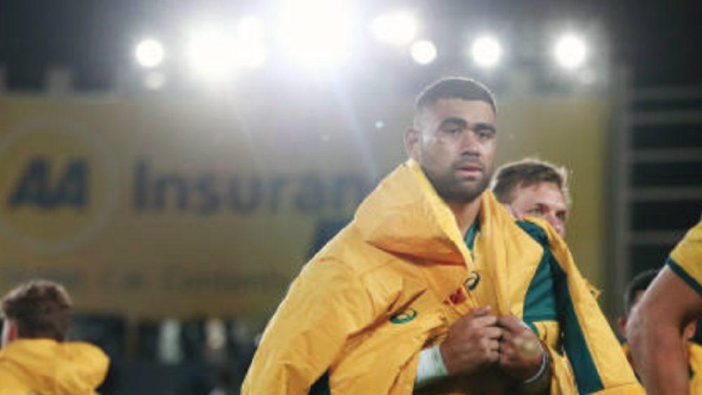 insolite vive altercation entre un supporter et un joueur australien rugby buzz international xv de départ 15