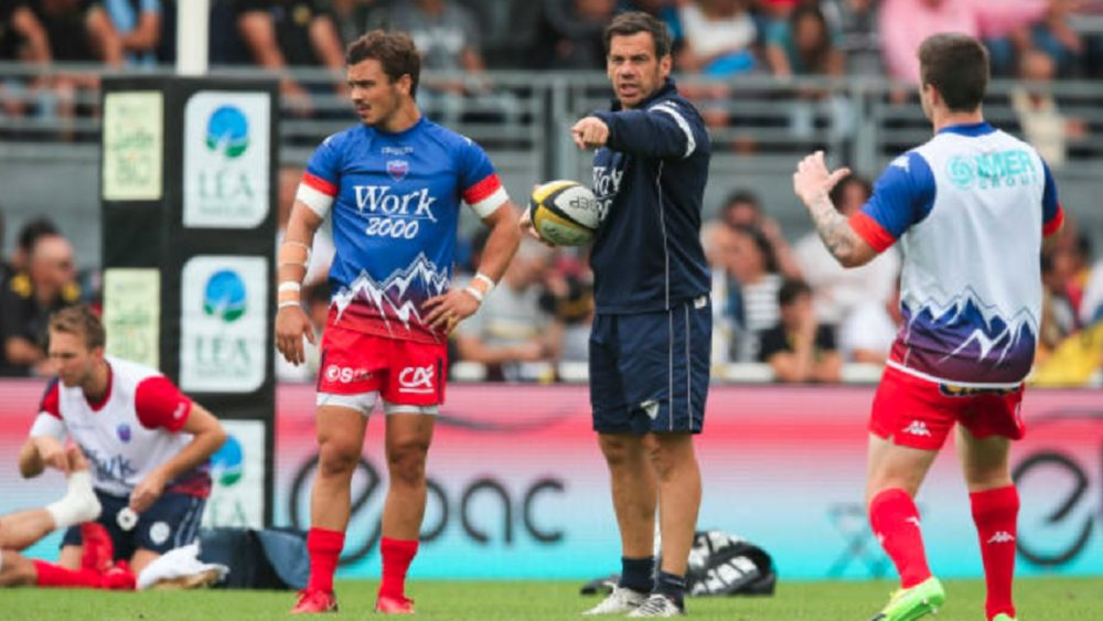 top 14 grenoble tombe aussi rugby france xv de départ 15