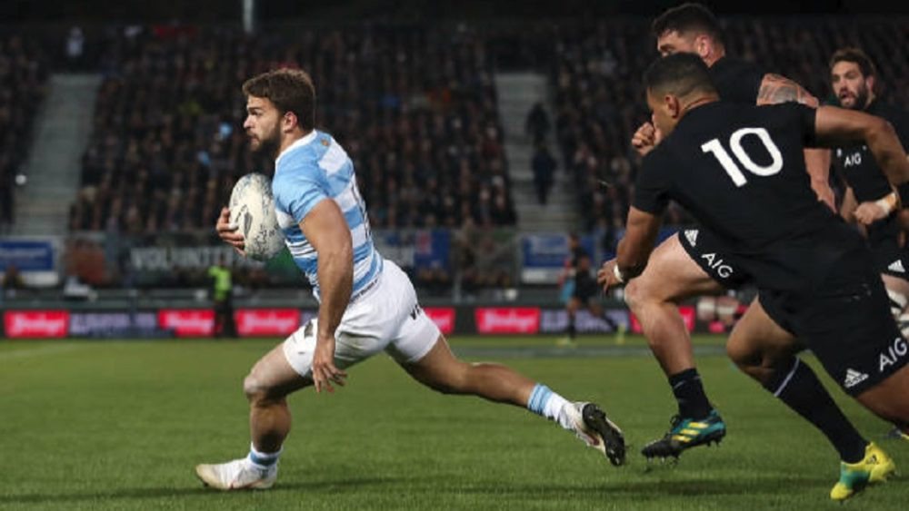 4 nations argentin moyano titulaire à l'aile rugby international xv de départ 15