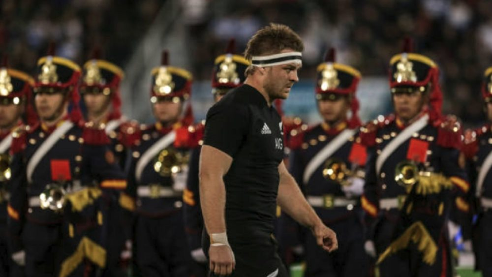 all blacks fracture au cou pour sam cane rugby international xv de départ 15