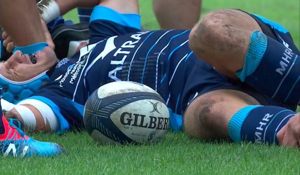 top 14 montpellier goosen gravement blessé rugby france xv de départ 15