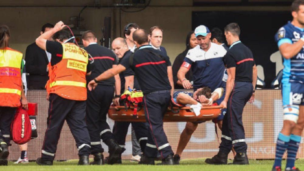 top 14 montpellier pas de fracture pour goosen rugby france xv de départ 15