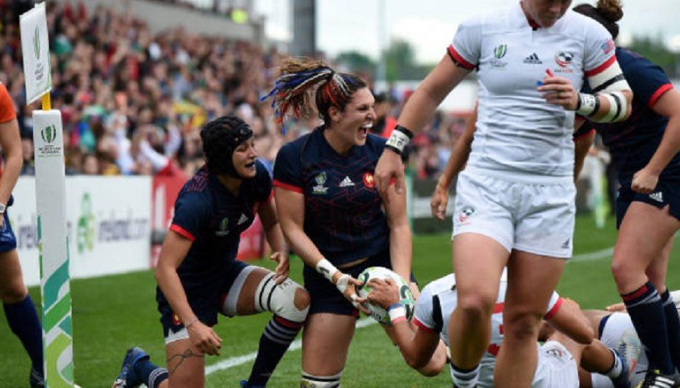 france féminines lenaïg corson on veut se faire plaisir rugby france xv de départ 15