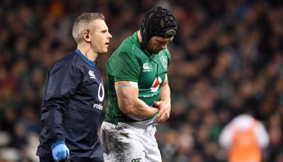irlande sean o'brien rechute rugby international xv de départ 15