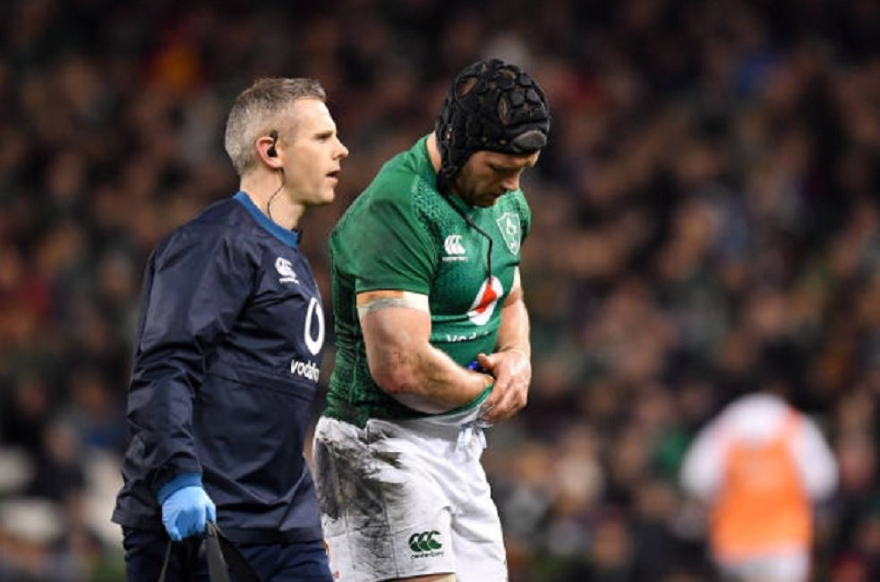 irlande sean o'brien rechute rugby international xv de départ 15