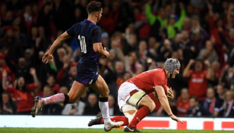 le pays de galles bat l'ecosse rugby international xv de départ 15