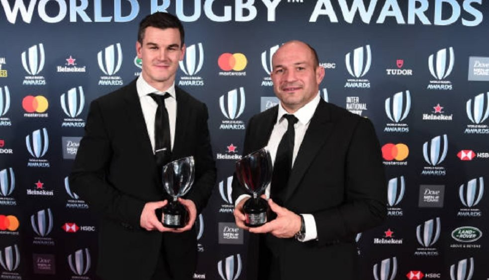 world rugby awards l'irlande rafle tout rugby international xv de départ 15