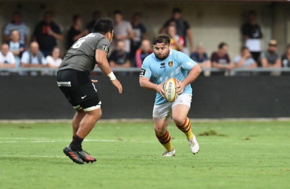 top 14 perpignan enzo forletta reste rugby france xv de départ 15
