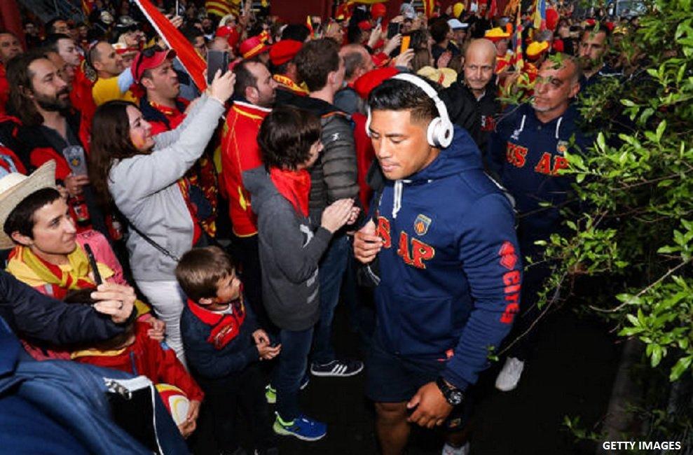 top 14 perpignan lam lourdement suspendu rugby france xv de départ 15