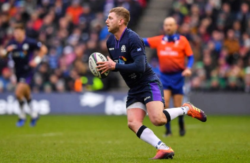 ecosse finn russell forfait rugby 6 nations xv de départ 15