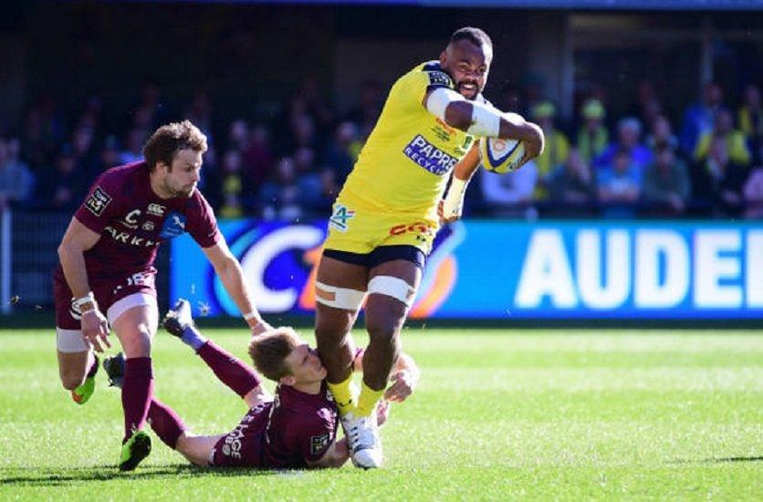 top 14 clermont maitrise bordeaux rugby france xv de départ 15