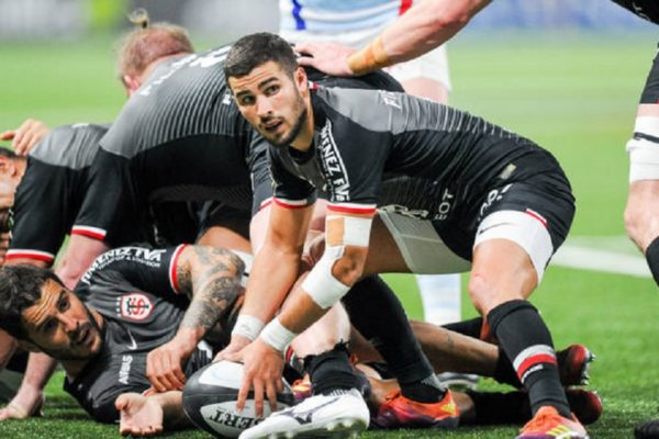 top 14 du grand toulouse rugby france xv de départ 15