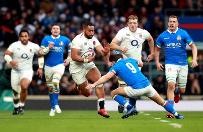 6 nations l'angleterre écrase l'italie rugby international xv de départ 15