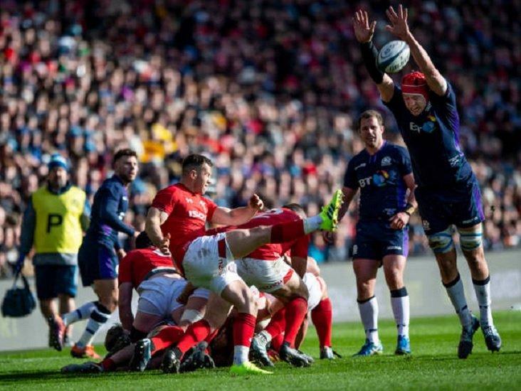 6 nations le pays de galles résiste au retour écossais rugby xv de départ 15