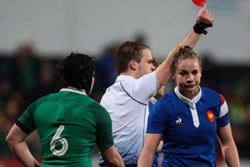 bleues 3 semaines de suspension pour romane ménager rugby 6 nations féminin xv de départ 15