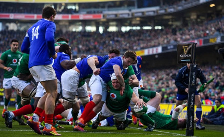 bleus transparents rugby 6 nations xv de départ 15