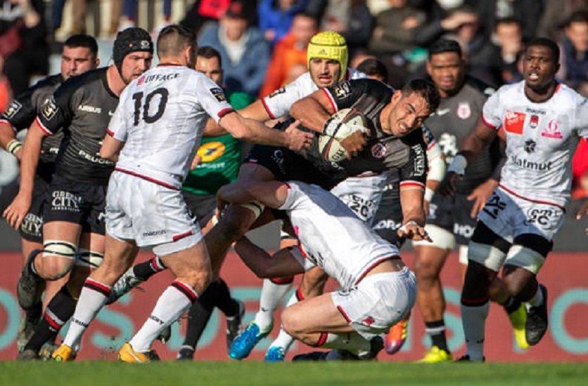 top 14 toulouse des avants au diapason de l'attaque rugby à la loupe xv de départ 15