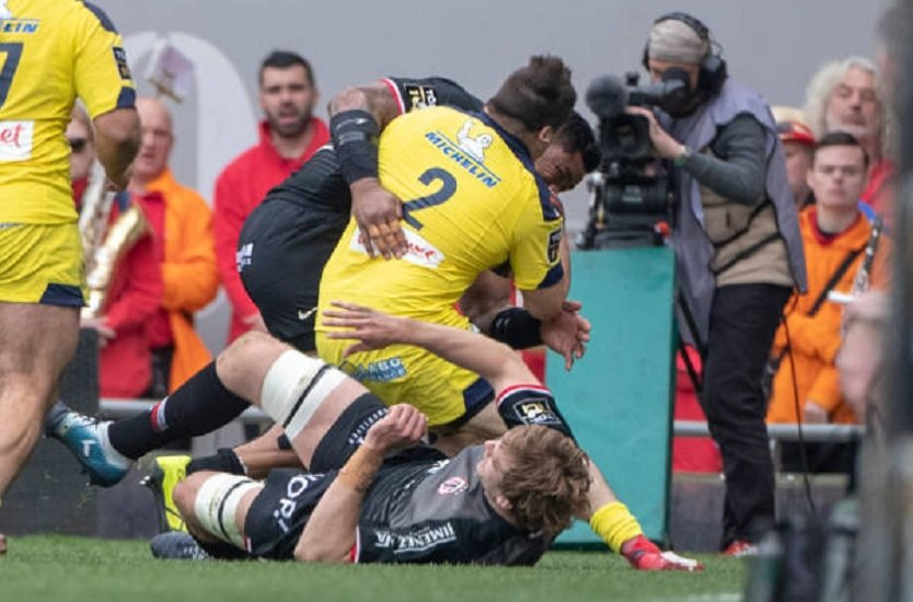 top 14 clermont yohan beheregaray absent un mois rugby france xv de départ 15