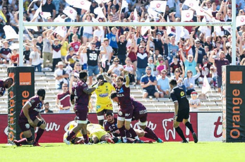 top 14 ubb belle affluence à chaban delmas rugby france xv de départ 15