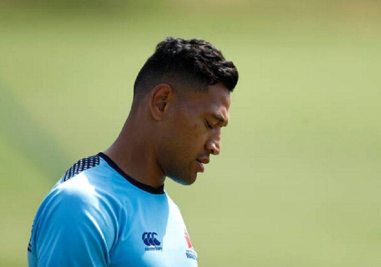 australie folau lâché par asics rugby international xv de départ 15