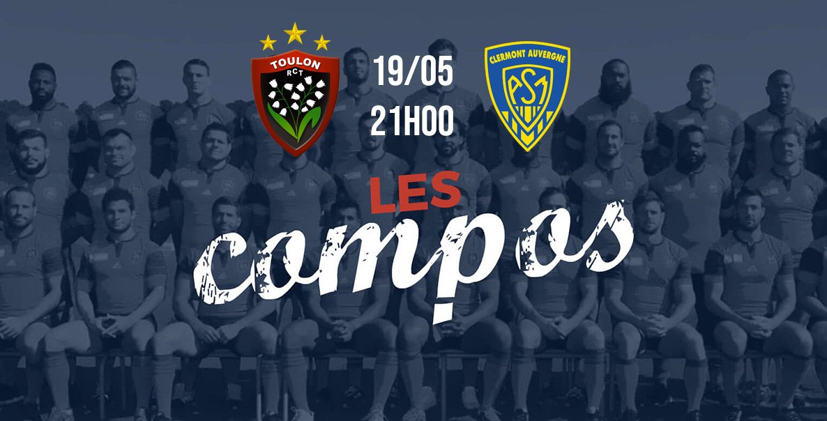 top 14 les formations toulon vs clermont rugby france xv de départ 15