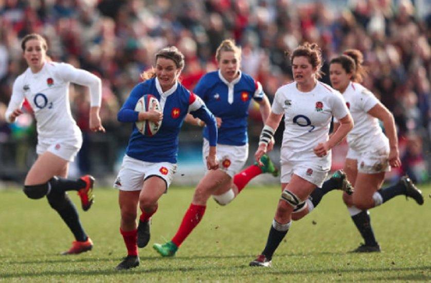 super series les bleues s'inclinent face à l'Angleterre rugby france xv de départ 15