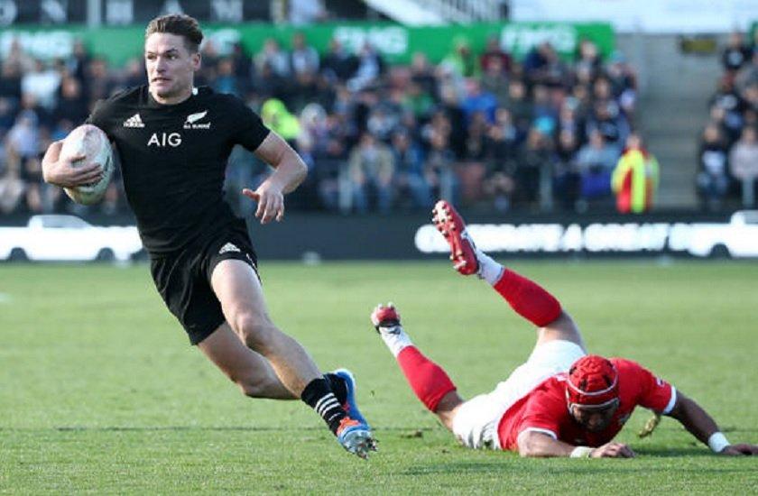 all blacks george bridge la révélation du mondial rugby international xv de départ 15