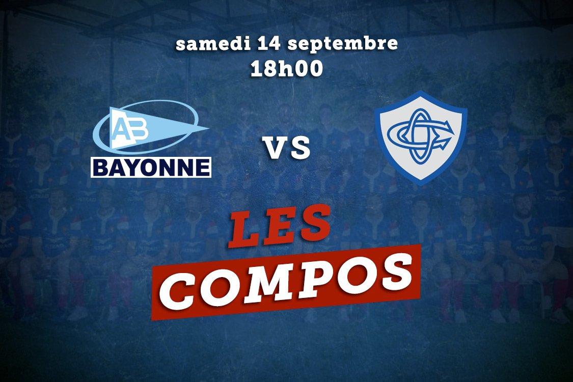 les formations bayonne vs castres rugby france xv de départ 15