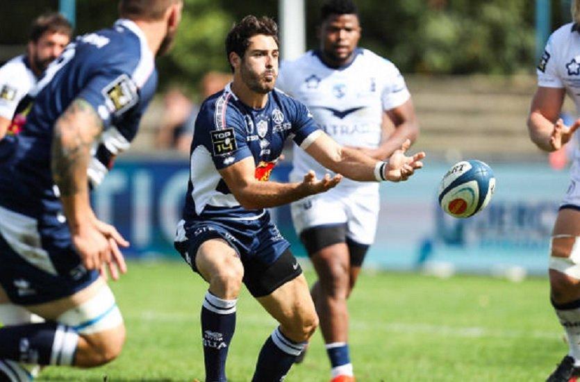 top 14 agen solide vainqueur du MHR rugby france xv de départ 15