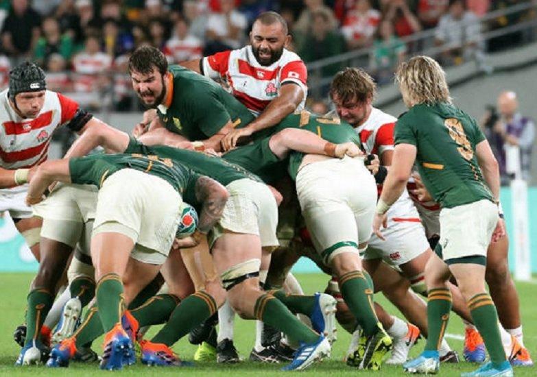 vidéo l'incroyable maul de 50 mètres des sud-africains rugby coupe du monde xv de départ 15