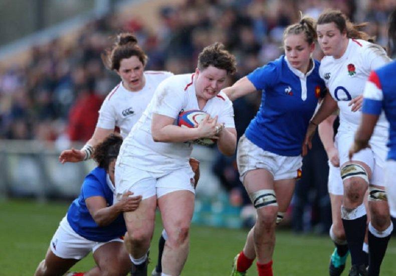 els françaises tombent à clermont rugby france féminin xv de départ 15