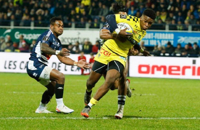 top 14 clermont victoire agen rugby france xv de départ 15