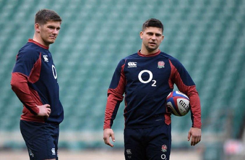 angleterre ben youngs de retour à la mêlée rugby 6 nations xv de départ 15