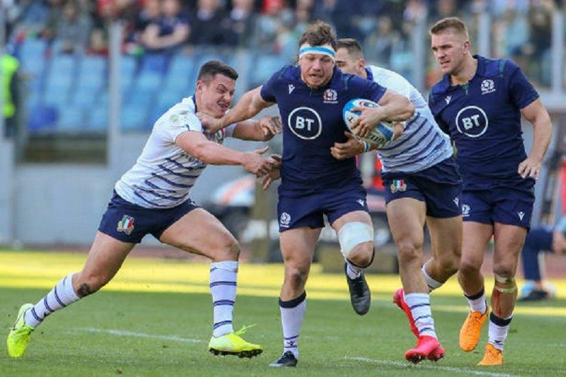 victoire poussive de l'écosse en italie rugby 6 nations xv de départ 15
