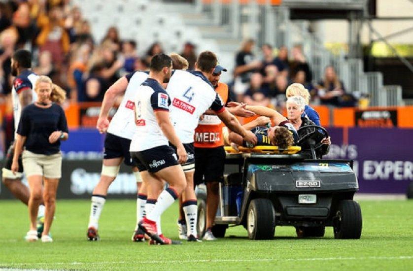 vidéo la terrible blessure de james lentjes rugby buzz xv de départ 15
