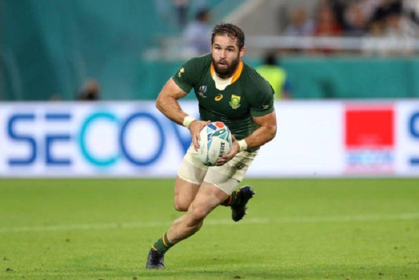 transfert cobus reinach signe à montpellier rugby france xv de départ 15