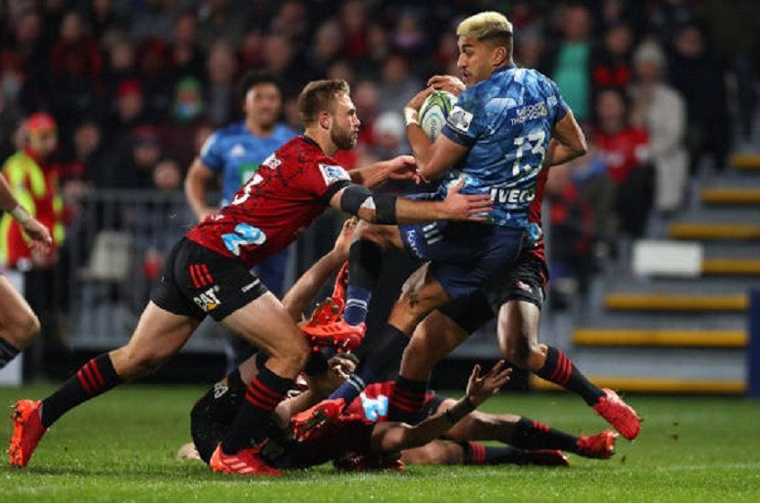 super rugby aotearoa blues crusaders annulé rugby france xv de départ 15