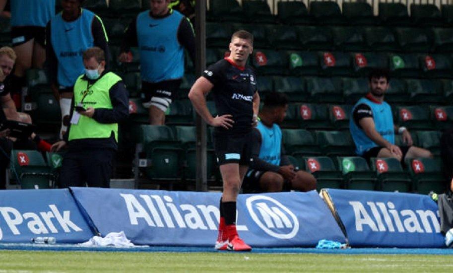owen farrell suspendu 5 semaines rugby angleterre xv de départ 15