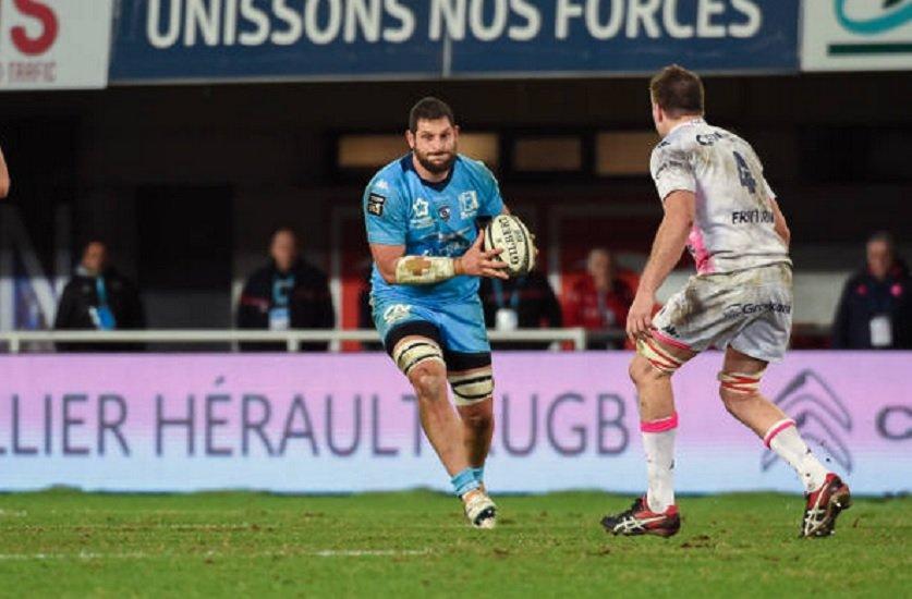 top 14 bayonne mikautadze à l'essai rugby france xv de départ 15