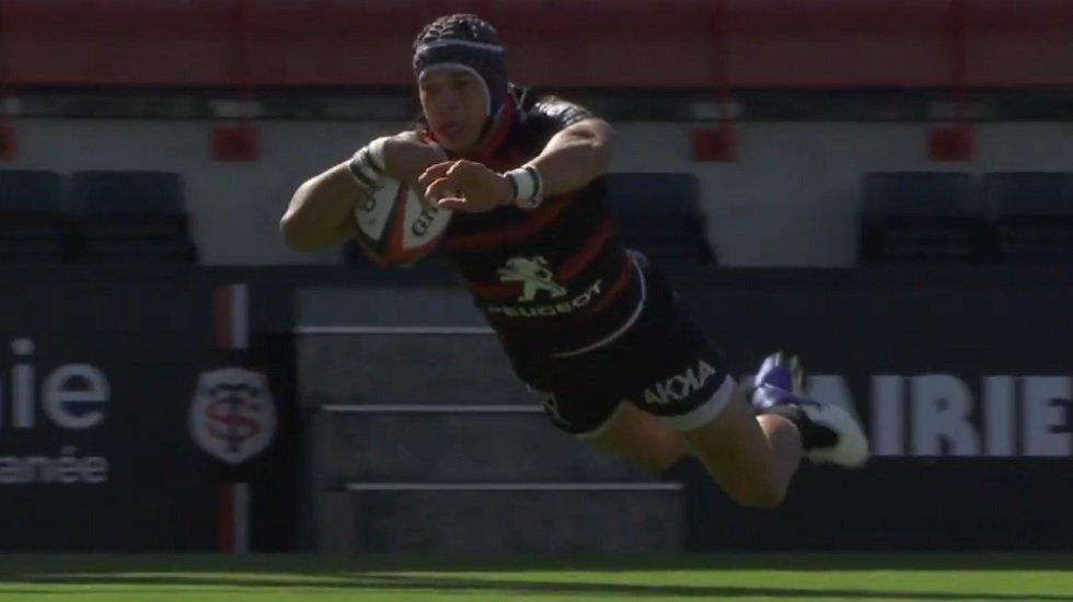vidéo top 14 essai cheslin kolbe rugby france xv de départ 15